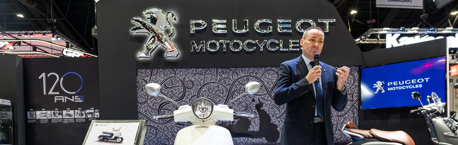 Thailand market entry for Peugeot Motocycles